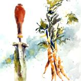 Carrots and Trowel