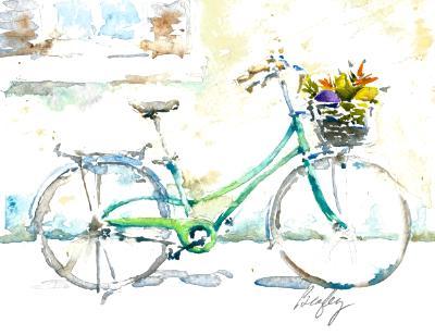 Market Bicycle with Veggies