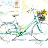 Market Bicycle with Veggies